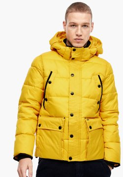 Q/S designed by - LANGARM - Winterjacke - yellow