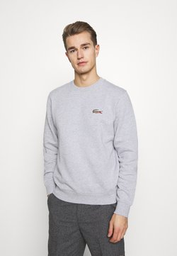 Lacoste - LACOSTE X NATIONAL GEOGRAPHIC - Sweater - silver chine