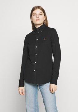 Polo Ralph Lauren - HEIDI LONG SLEEVE - Button-down blouse - black