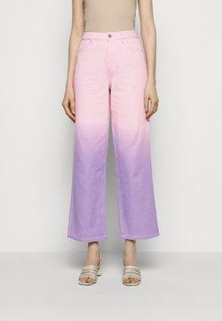 Olivia Rubin - LYNNIE - Straight leg -farkut - lilac pink ombre
