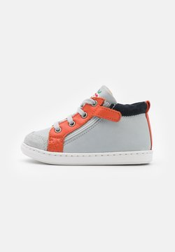 Shoo Pom - BOUBA BI ZIP - Lauflernschuh - ice/orange/navy