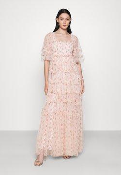 Needle & Thread - BIJOU SMOCKED GOWN - Robe de cocktail - paris pink