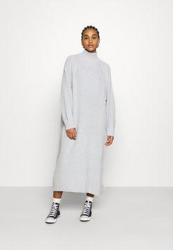 Monki - KEAN DRESS - Vestido de punto - grey dusty light