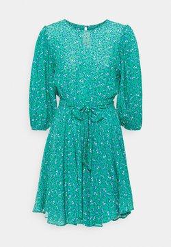 Mavi - LONG SLEEVE - Freizeitkleid - holly green print