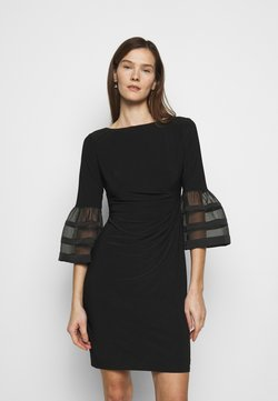 Lauren Ralph Lauren - MID WEIGHT DRESS - Vestido ligero - black