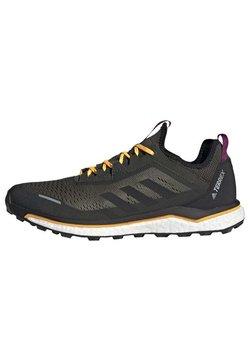 adidas Performance - TERREX AGRAVIC FLOW SHOES - Zapatillas de trail running - green
