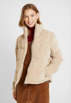 ONLY - ONLCOLE PADDED JACKET - Winterjacke - beige