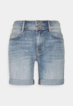TOM TAILOR - ALEXA BERMUDA - Jeans Shorts - random bleached blue denim