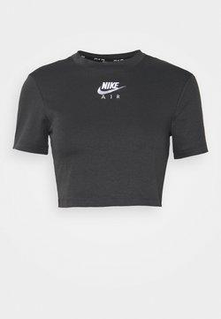 Nike Sportswear - AIR CROP TOP - T-Shirt print - grey