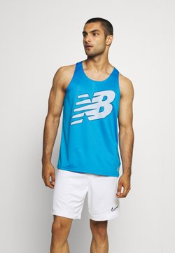 New Balance - PRINTED ACCELERATE SINGLET - Funktionsshirt - eclipse