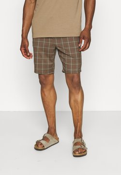 Only & Sons - ONSLINUS CHECK - Shorts - cedar wood