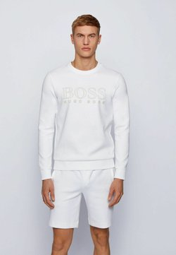 BOSS - SALBO ICONIC - Collegepaita - white