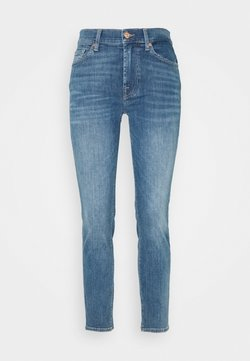 7 for all mankind - ROXANNE ANKLE REASON - Jeans Skinny Fit - light blue