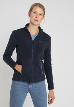 Jack Wolfskin - W MOONRISE JKT - Fleecejacke - midnight blue