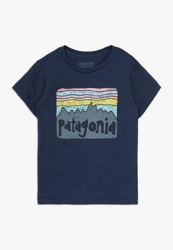 Patagonia - BABY FITZ ROY SKIES UNISEX - T-shirt med print - new navy