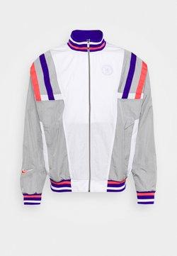 Nike Performance - CHELSEA LONDON - Trainingsjacke - white/matte silver/concord/ember glow