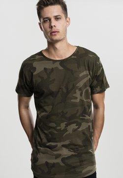 Urban Classics - Camiseta estampada - olive