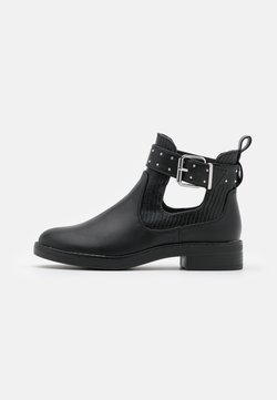 ONLY SHOES - ONLBIBI STRAP - Stiefelette - black