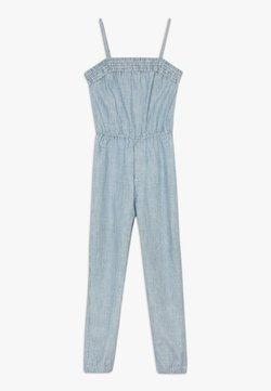Abercrombie & Fitch - UTILITY SMOCKED  - Combinaison - white/blue