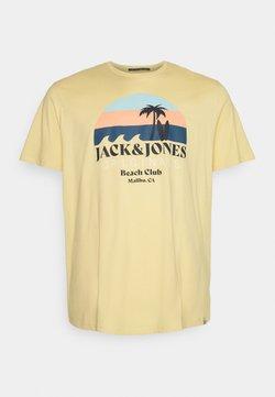 Jack & Jones - JORCABANA TEE CREW NECK - T-Shirt print - sahara sun