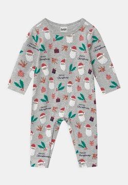 Cotton On - THE LONG SLEEVE SNAP UNISEX - Pijama - cloud marle