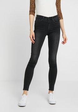Monki - MOCKI - Slim fit jeans - washed black