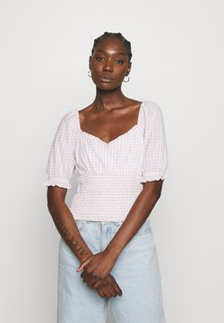 Abercrombie & Fitch - MIMOSA BLOUSE - Bluse - white