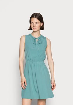 Anna Field - SLEEVELES TIE DETAIL DRESS - Day dress - light green