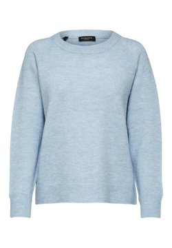 Selected Femme - Neule - cashmere blue