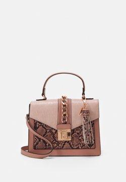 ALDO - GLENDAA - Handbag - blush combo/rose gold