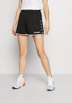 Hummel - HMLAUTHENTIC  - kurze Sporthose - black/white