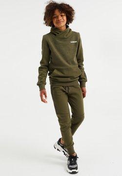 WE Fashion - Verryttelyhousut - army green