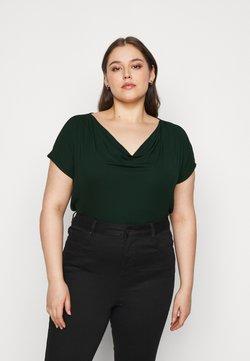 Anna Field Curvy - T-Shirt print - dark green