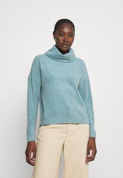 Esprit Collection - TURTLENECK - Maglione - grey blue