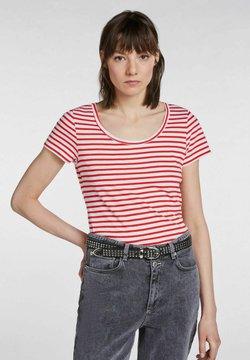 SET - T-Shirt print - white red