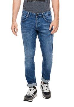 Q/S designed by - MIT WASCHEFFEKT - Straight leg jeans - blue