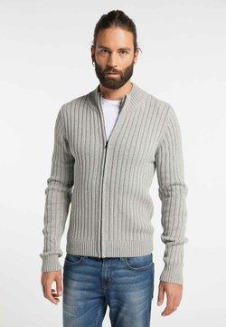 DreiMaster - Cardigan - light gray melange