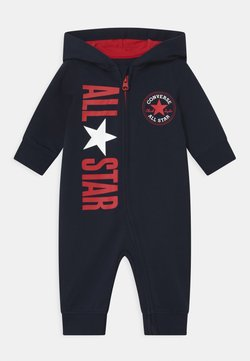 Converse - COSMIC HOODED UNISEX - Jumpsuit - obsidian
