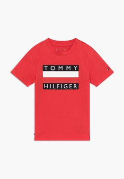 Tommy Hilfiger - BABY FLAG  - T-shirt print - red