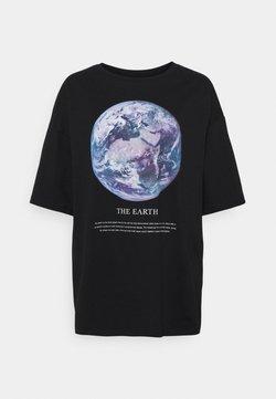 Even&Odd - T-Shirt print - black