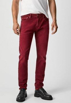 Pepe Jeans - STANLEY - Slim fit -farkut - johannisbeere