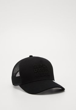 Superdry - LOGO TRUCKER  - Lippalakki - black