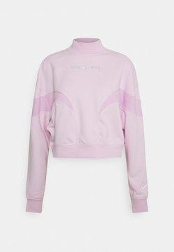 Nike Sportswear - AIR MOCK - Sweatshirt - regal pink/arctic pink/