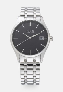BOSS - COMMISSIONER - Rannekello - silver-coloured/black