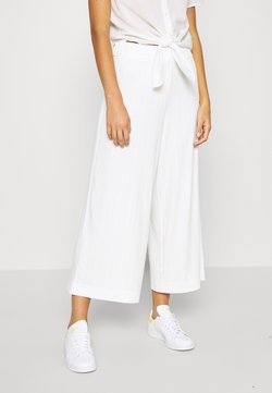 Monki - CILLA TROUSERS - Jogginghose - white light
