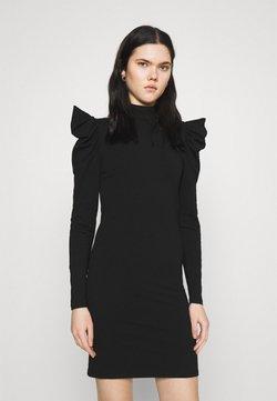 ONLY - ONLLIVE LOVE LIFE PUFF DRESS - Vestido de tubo - black