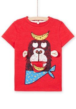 Du Pareil au Même - T-Shirt print - red