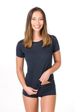 super.natural - W BASE TEE - T-Shirt basic - dark blue