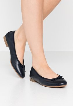 Tamaris - WOMS  - Klassischer  Ballerina - navy
