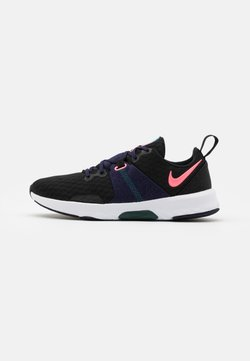 Nike Performance - CITY TRAINER 3 - Kuntoilukengät - black/sunset pulse/blackened blue